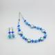20000SET2-Collana+Orecchini-Turchese-Azzurro