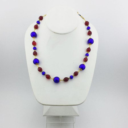 20006C-Collana-blu-cobalto-rosso