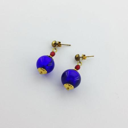 20006E-Orecchini-blu-cobalto-rosso